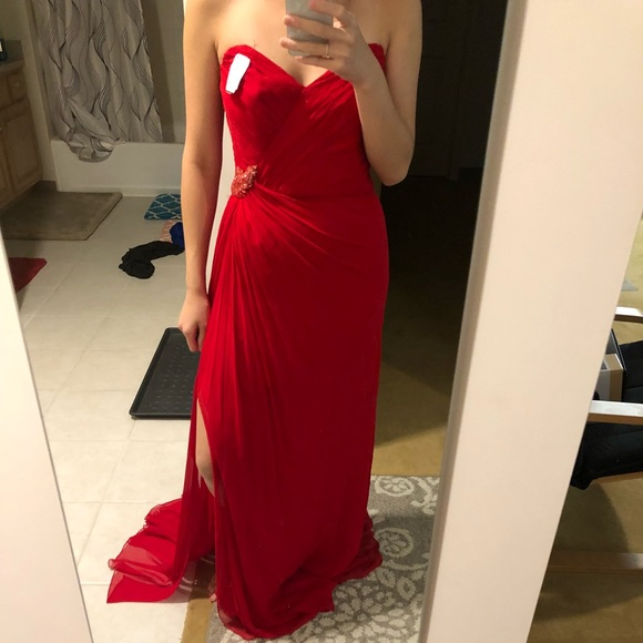 Melinda Eng Dresses & Skirts - Red gown
